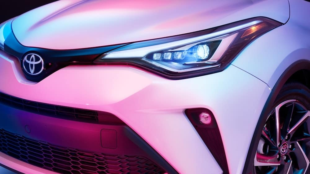2020 Toyota C-HR grille