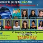 Toyota, Tampa, Yaris, Car Give Away, Perfect Attendance,