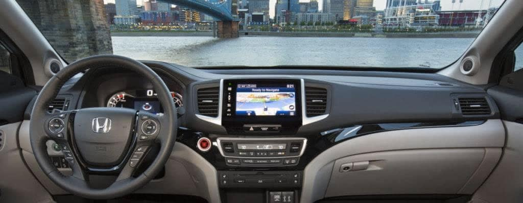 What Is The Honda Sensing Suite 2017 Pilot Dashboard