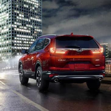 2018 Honda CR-V rear view