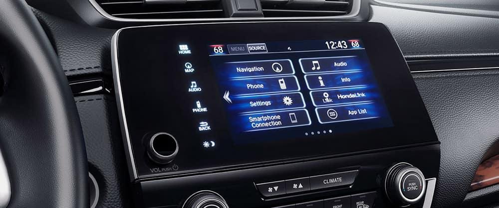 2018 Honda CR-V touch screen