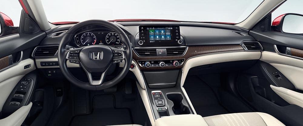 2018 Honda Accord dashboard