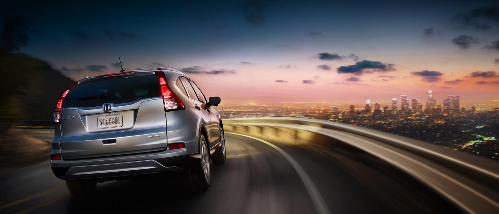 2015 Honda CR-V at dusk