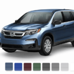 2019 Honda Pilot color swatch