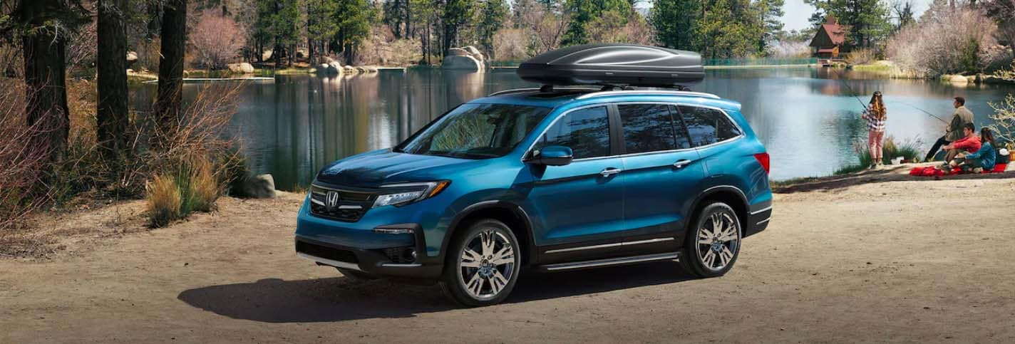 2019 Honda Pilot By Lake