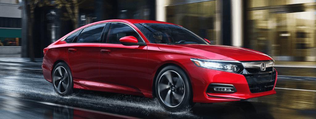 Red 2019 Honda Accord