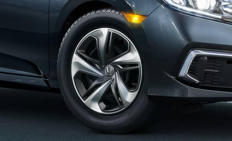 tire on a 2019 Honda Civic Sedan