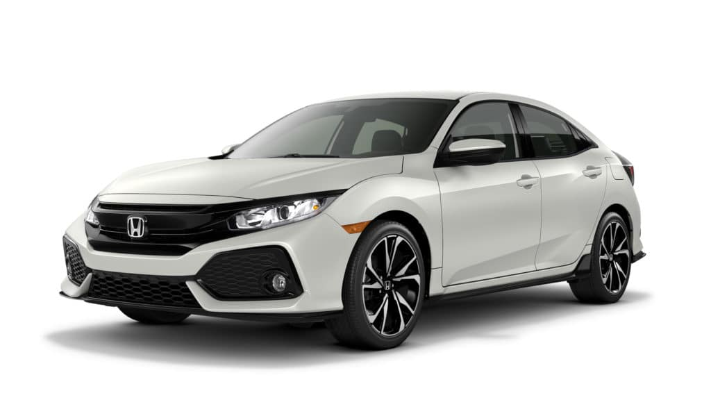 Lease a 2019 Honda Civic Sport 4D FWD Hatchback Manual