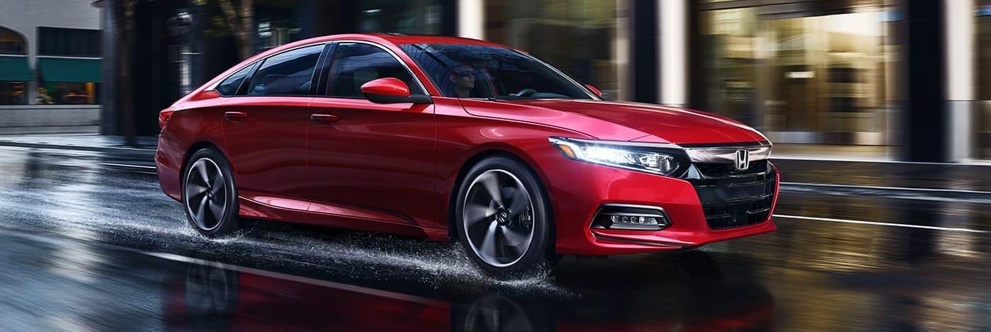 red 2020 honda accord