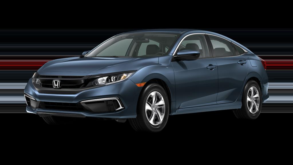 Lease a 2020 Honda Civic LX FWD CVT Sedan