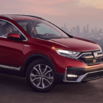 CR-V On Hill