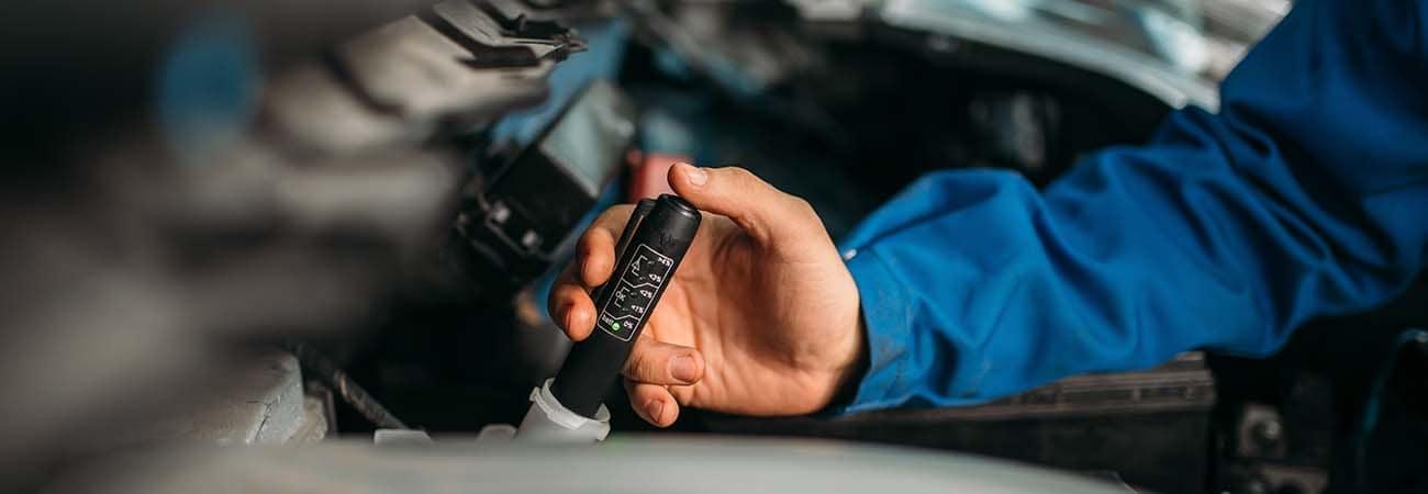 Checking Brake Fluid