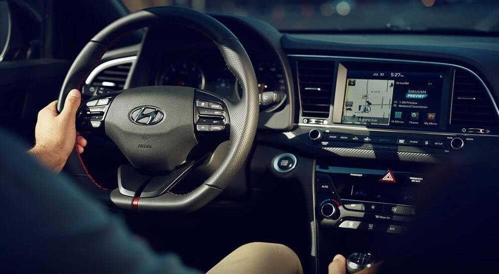 2017 Hyundai Elantra interior view