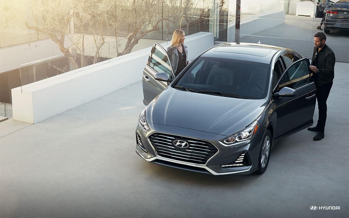 2018 Hyundai Sonata with models