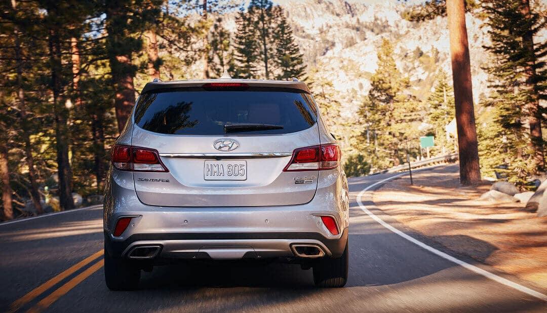 2018 Santa Fe rear view