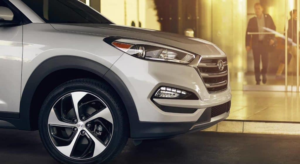 2018 Hyundai Tucson 19 inch wheels