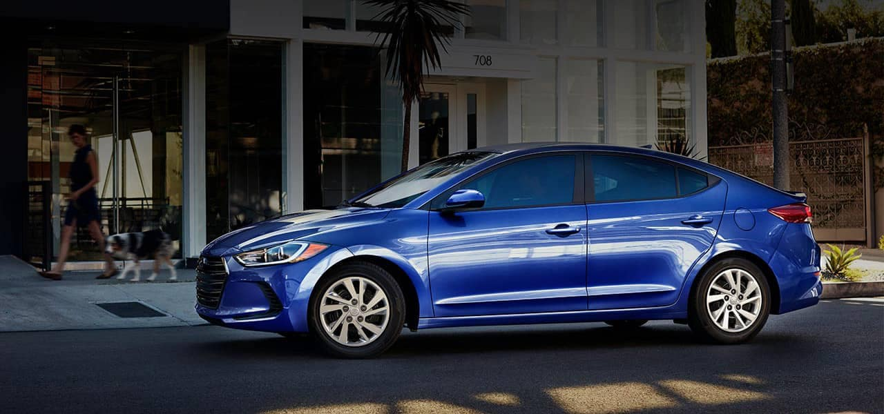 2018 Hyundai Elantra SE in Electric Blue