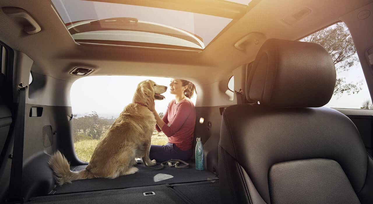 2018 Hyundai Tucson fold down rear seat back