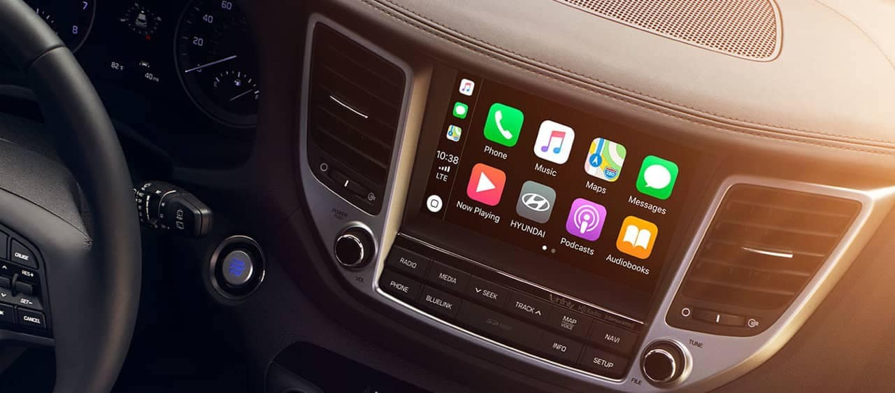 2018 Hyundai Tucson technology dashboard