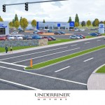 New Underriner Motors Building