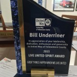 Bill Underriner United Spirit Award