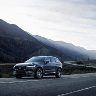 2018 Volvo XC60 on the highway