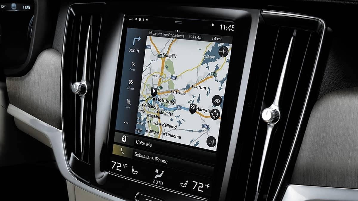 2018 Volvo S90 touchscreen