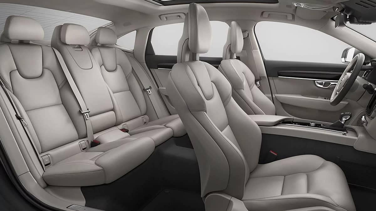 2018 Volvo S90 seating