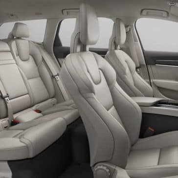 2018 Volvo V90 interior seats
