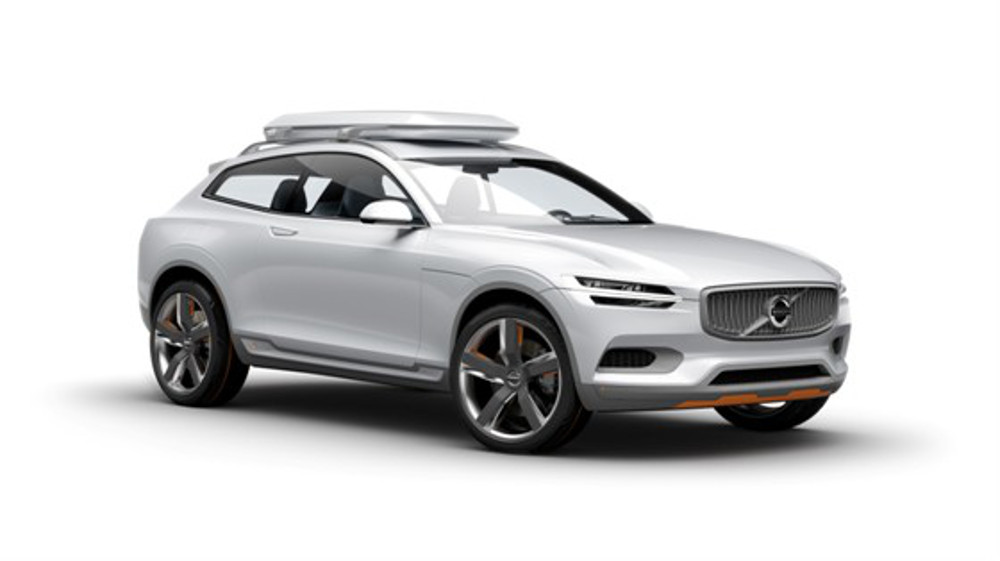 Volvo Concept XC Coupe on white background