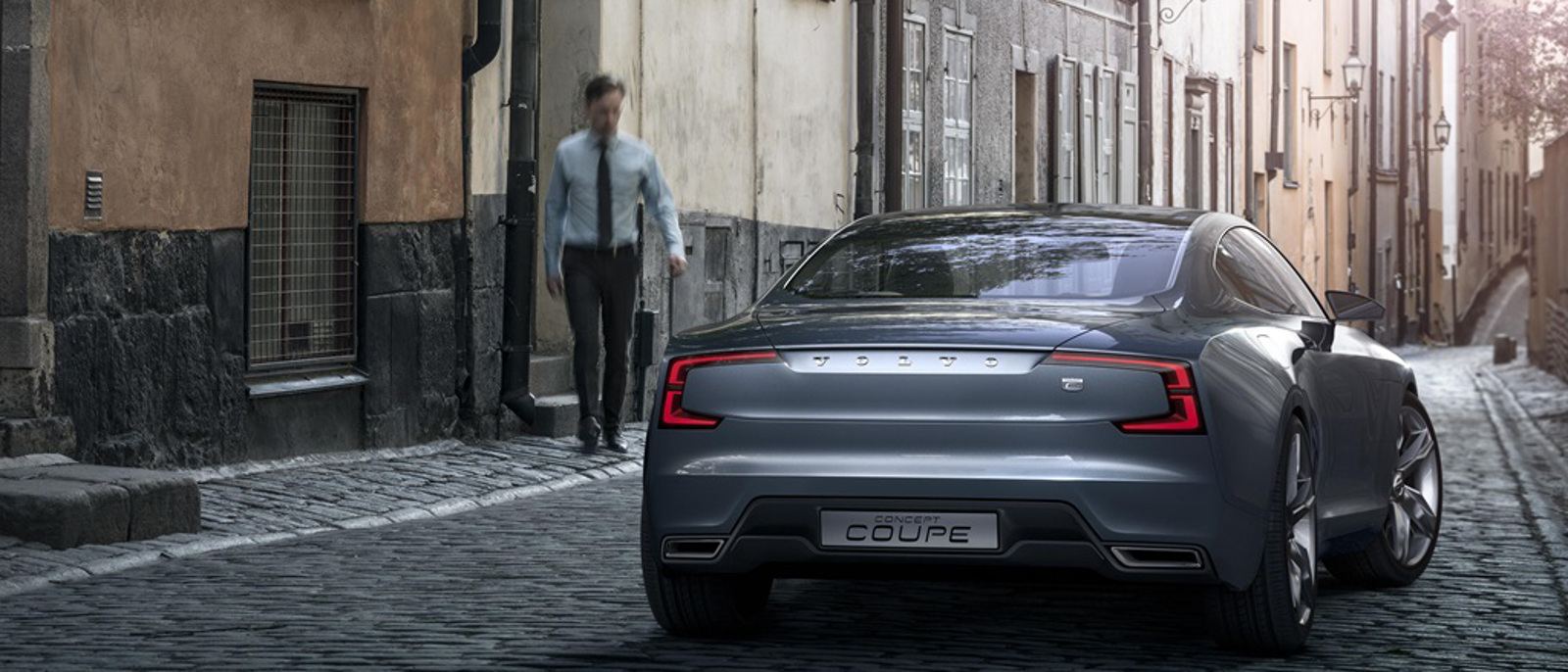 Volvo Concept Coupe back view
