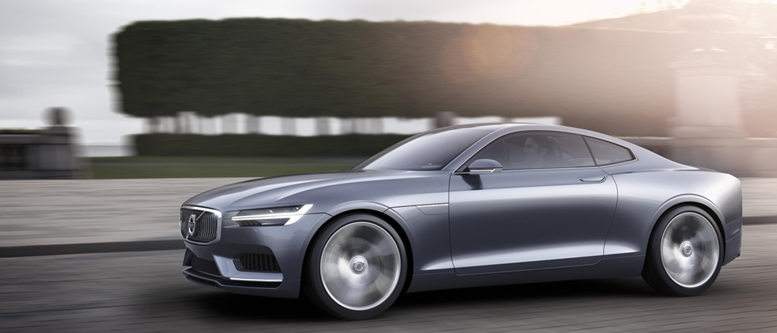 Volvo Concept Coupe side view