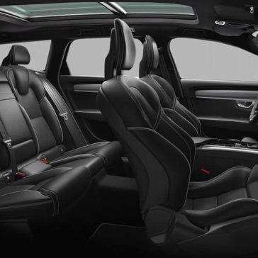 V90 Interior seating