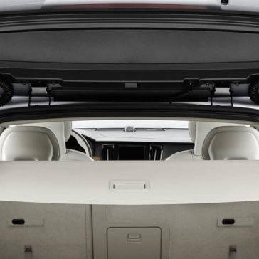 V90 Optional cargo cover