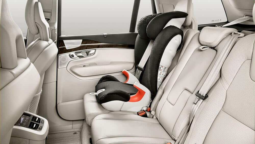 2018 Volvo XC90 interior seating