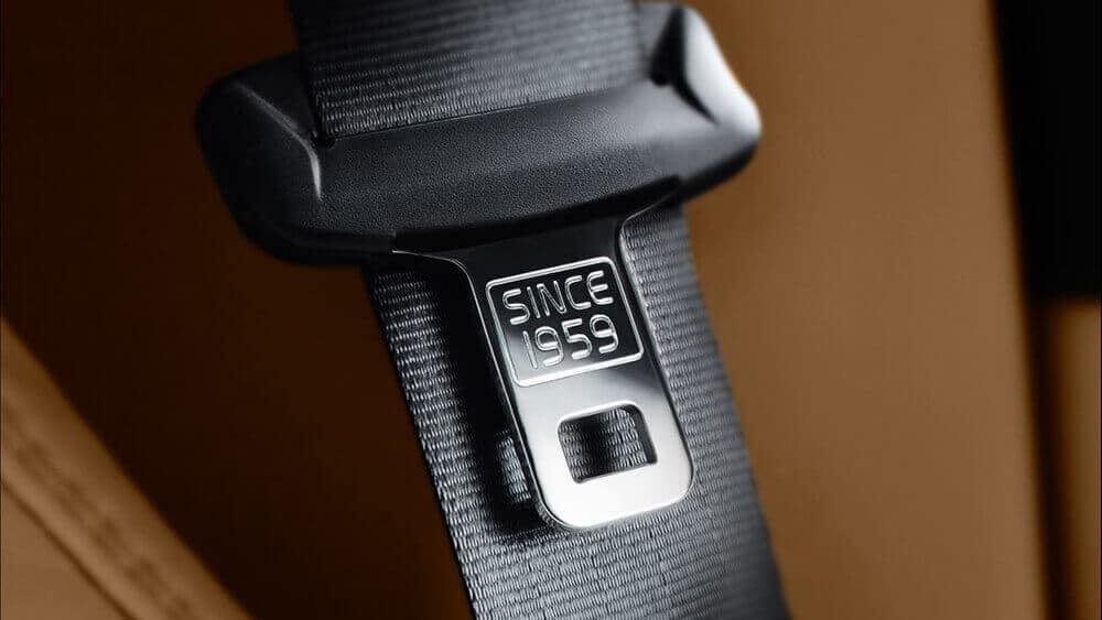 2018 Volvo XC90 seatbelt detail