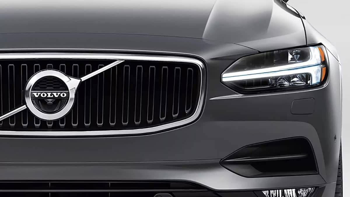 2018 Volvo S90 exterior