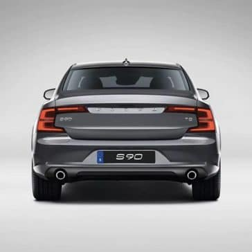 2018 Volvo S90 back end