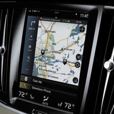 2018 Volvo S90 touchscreen