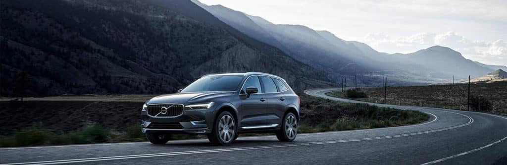 2018 Volvo XC60 in the mountains