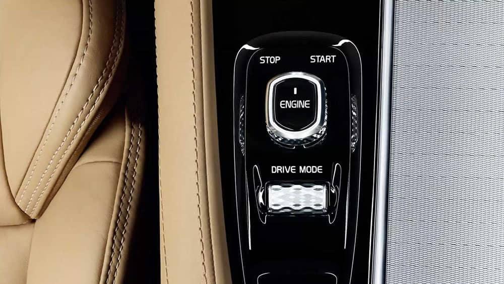 2019 Volvo XC90 interior dashboard detail