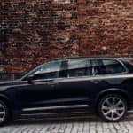 2019 Volvo XC90 parked along brick wall