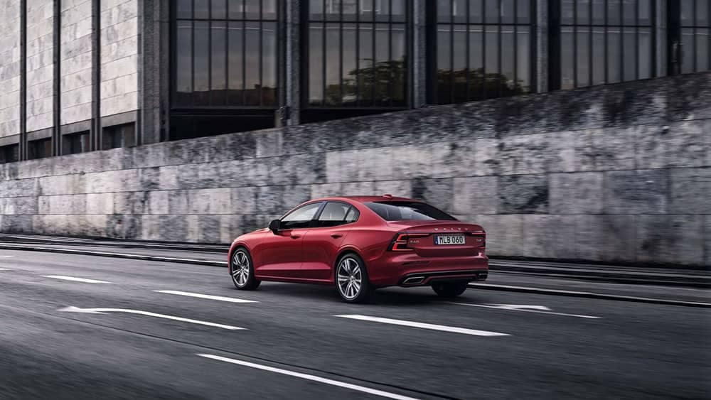 2019 Volvo S60 Rear Driving