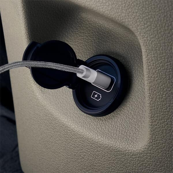 2021 Hyundai Tucson 2nd-Row USB Outlet