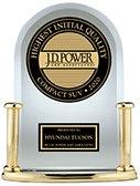 Hyundai Tucson JD Power Number One Quality Award