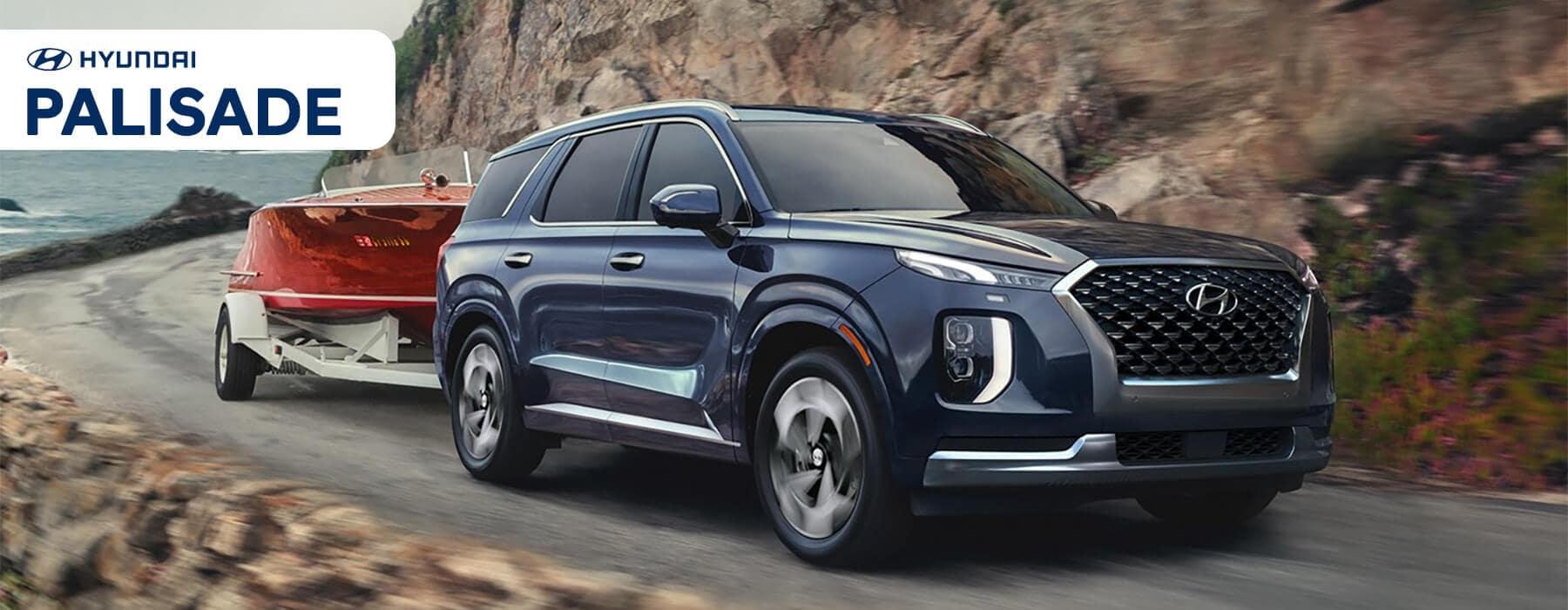Hyundai SUV Lineup: 2021 Palisade Slider
