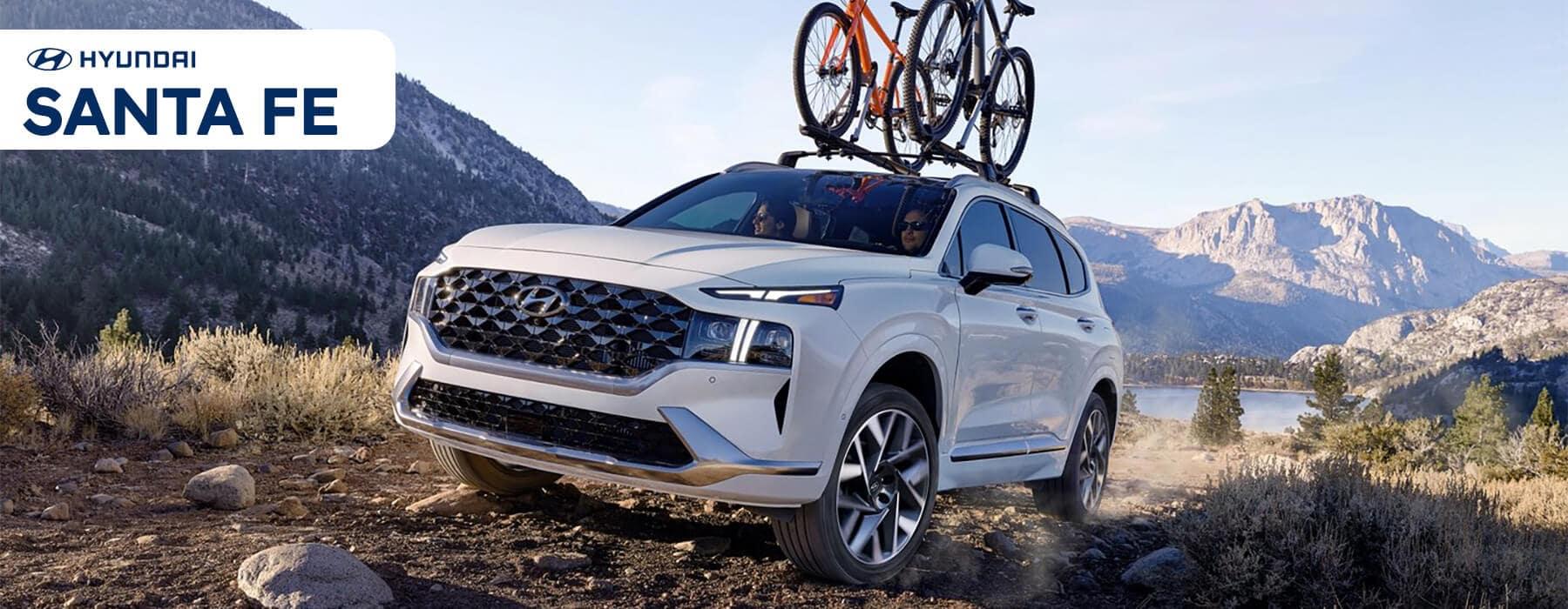 Hyundai SUV Lineup: 2021 Santa Fe Slider