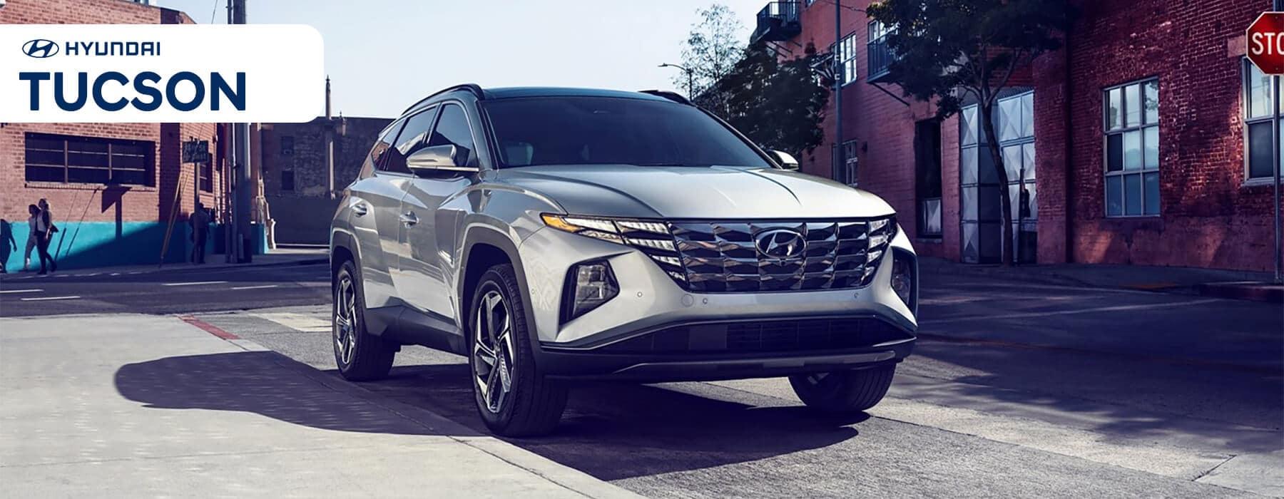 Hyundai SUV Lineup: 2022 Tucson Slider