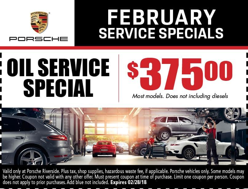 Porsche service specials coupons riverside auto repair oil service special fandeluxe Gallery