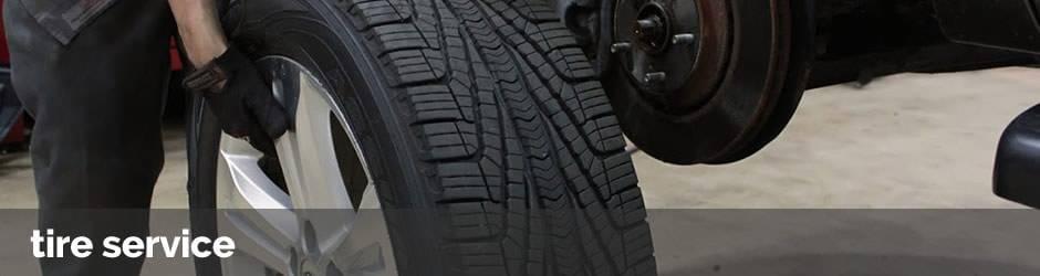 Porsche tire service in Riverside